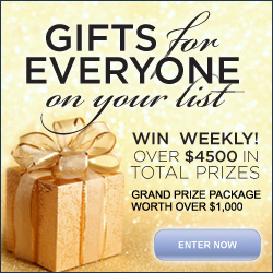 Sweestakes, free prizes, drawing, register, enter to win, gifts for holidays