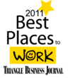 FGI Research won Triangle Business Journal's Best Places to Work Award