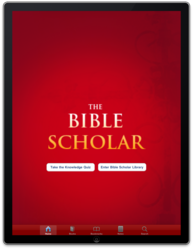 The Bible Scholar Interactive for iPad