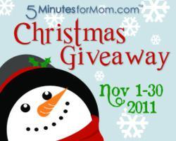 5MinutesForMom.com Christmas Giveaway Event 2011