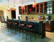photo of residential custom bar & barchairs by No Mas!