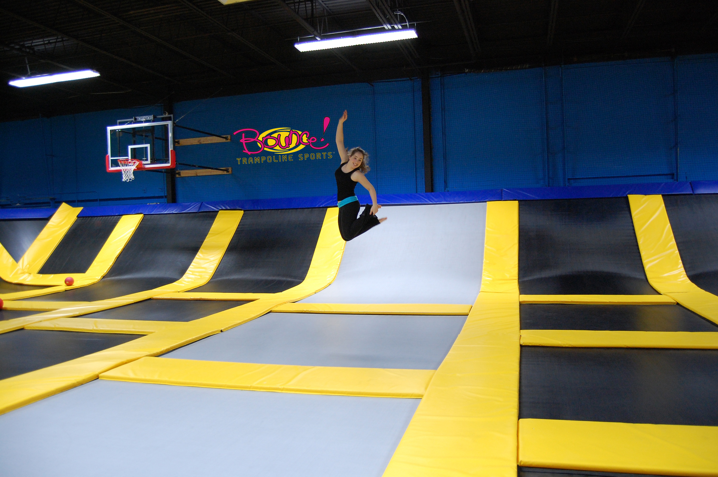 Trampoline Jump...