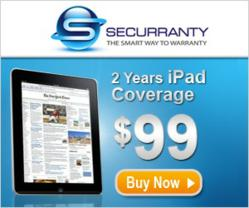 Protection for iPad, iPad Warranty, iPad 2 Warranty, Samsung Warranty