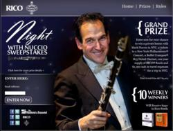 Night with Nuccio Sweepstakes