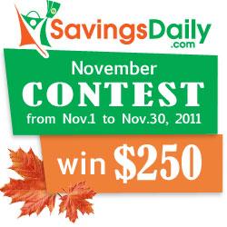 SavingsDaily.com Community Contest