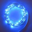 Celebright LED Holiday Lights in Blue on a Silver Wire