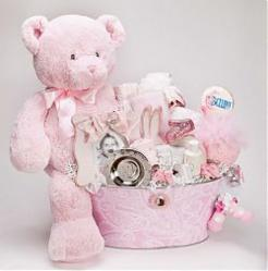 """The Luxe"" Baby Gift Basket by Bellini"