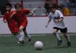Youth indoor soccer at San Ramon Sports