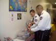 CCA Idaho Correctional Center officers donate items to Patriot Packages that will be sent to the facility's Active-Duty employees and relatives.