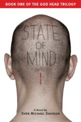 """Dust Jacket for """"Sate of Mind."""""""