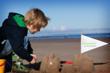 Bamburgh beach, Northumberland, England