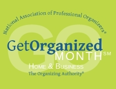 January 2012 is GO Month, sponsored by the National Association of Professional Organizers