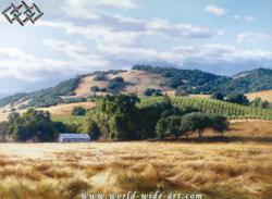 California Winde Country - June Carey - World-Wide-Art.com
