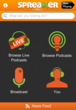 Spreaker screenshot