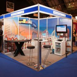 Stride Insurance Group exhibition stand