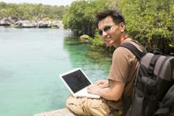 Gap Year travellers use technology on the move