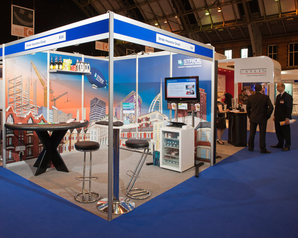 Exhibition Stand For Rent : Stride insurance group puts property success on