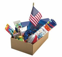 Blue Star Mothers, Shoebox for Soldiers