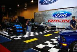 Swisstrax Garage Flooring at Ford Auto Show
