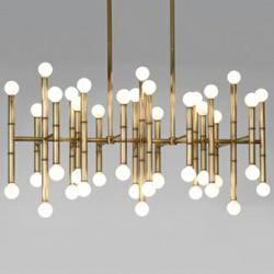 Meurice Rectangular Chandelier by Jonathan Adler