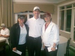 2011-10-06 Net Winners 63 (9 under par) with owner Mark Tanner