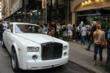 Juelz Santana's Rolls Royce at Avianne & Co Jewelers in New York