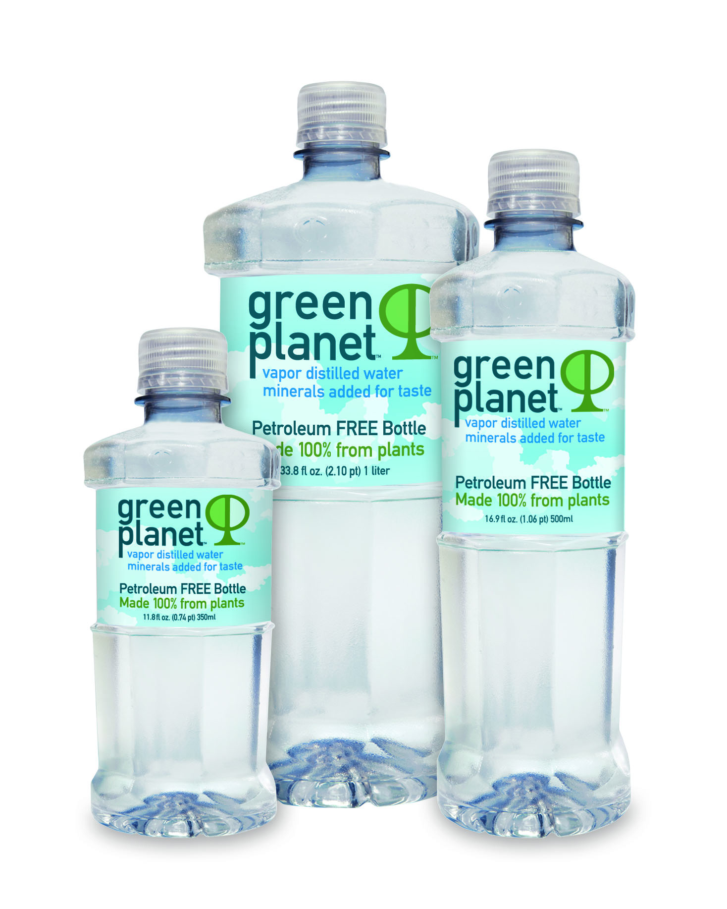 "Green Planet Water in a 100% Plant Based Bottle Keeps ""The Rosie"