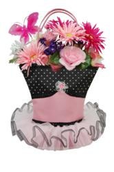 Just add flowers for a most inque gift!