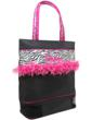 ZBR-02 Medium Tote with mesh shoe compartment.