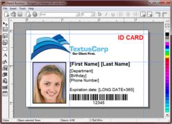 Screenshot of IDpack Designer