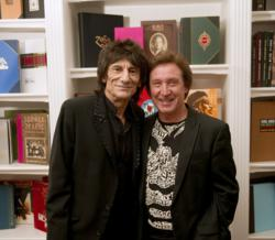 Ronnie Wood and Kenney Jones at the launch of FACES 1969-75 at Genesis Publications, UK. Photo: Ross Halfin 2011
