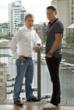 boxPAY Co-Founders Iain and Gavin McConnon at company headquarters in Dublin, Ireland