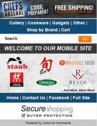 m.chefsarsenal.com