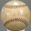Babe Ruth and Lou Gehrig Autographed Baseball