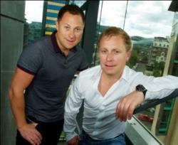 boxPAY Co-Founders Gavin and Iain McConnon