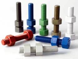 threaded rod, all thread rod, b7 studs, xylan coating, petrochemical, oil field hardware