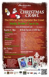 Christmas Crawl 2011 Flyer
