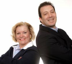 Debbie Qaqish and Jeff Pedowitz