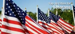 Livability.com celebrates Veterans Day with list of top cities for vets.