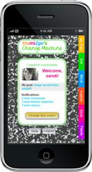 gI 62766 fitsmi2go phone graphic2 fitsmi.com(TM) Announces Mobile Website To Help Overweight Teen Girls Manage Their Weight and Health Using Their Cell Phone