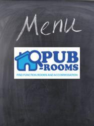 Pub Rooms Chalk Board Food menu