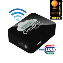 CloudFTP shares any USB storage data over WiFi