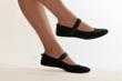 Flip Slip foldable compact walking shoes