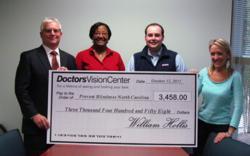doctors vision center donation, doctors vision center, prevent blindness north carolina fundraiser, doctors vision center fundraiser