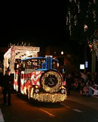 Tempe Fantasy of Lights Opening Night Parade