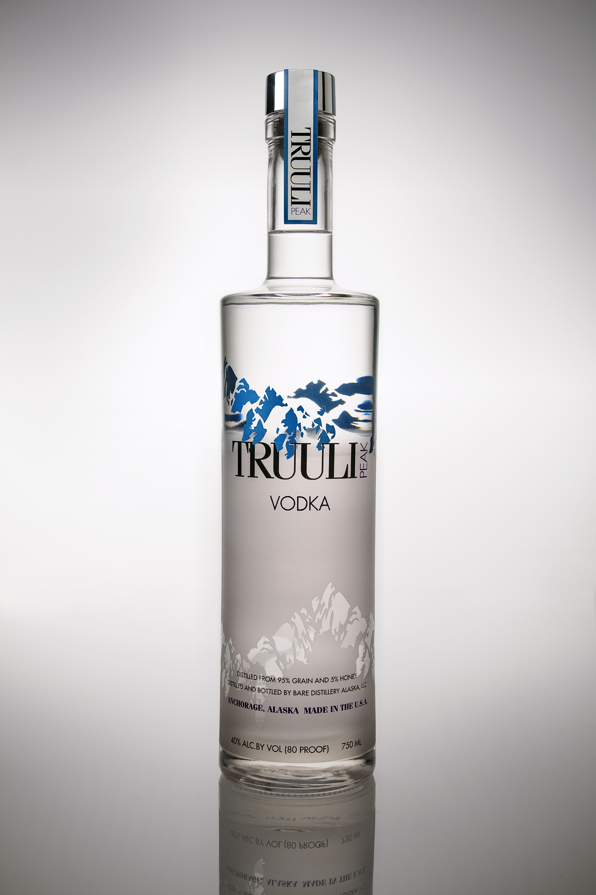Bare Distillery Launches Truuli Peak Vodka To Select