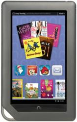 """Times Are Tough - Win a Nook! Join the Allmand Law Social Media Contest."