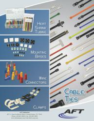 cable ties, heat shrink tubing, mounting hardware