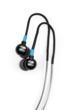 Trax Custom Fit Waterproof Sweatproof Sport Headphones in black