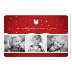 Your Invites - Sample of custom holiday card